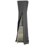 Triangle Glass Tube Patio Heater Commercial Cover in Gray