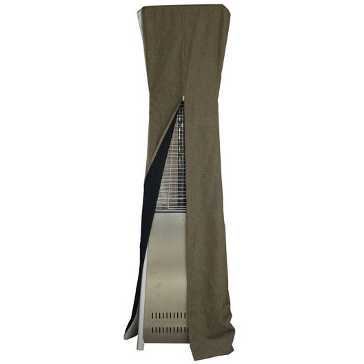 AZ Patio Heaters  Triangle Glass Tube Patio Heater Commercial Cover in Tan