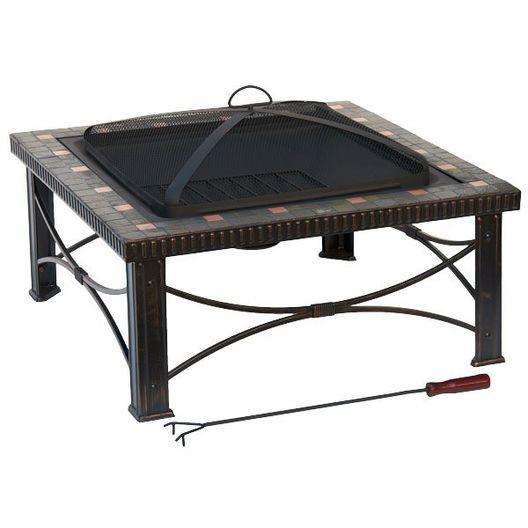 AZ Patio Heaters  30 Slate Tile Fire Pit