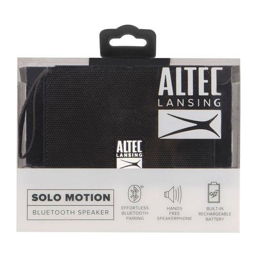 Altec Lansing - Solo Motion Bluetooth Speaker Black - 700443