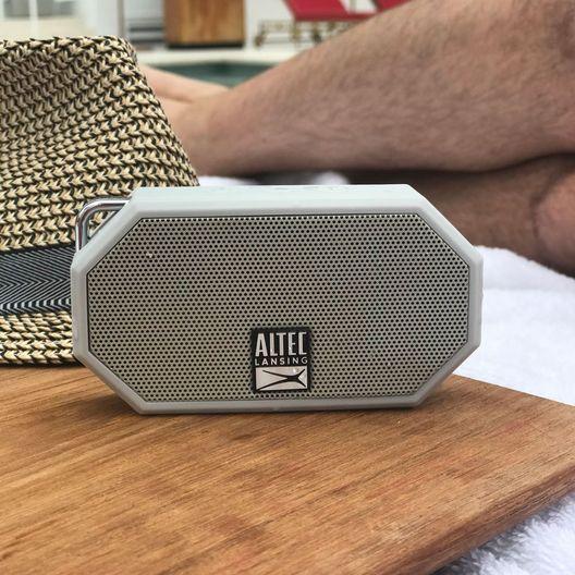 Altec Lansing  Mini H2O 3 Bluetooth Speaker Charcoal Gray