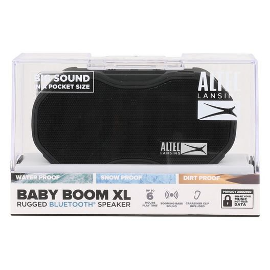 Altec Lansing - Baby Boom XL Bluetooth Speaker Black - 700453