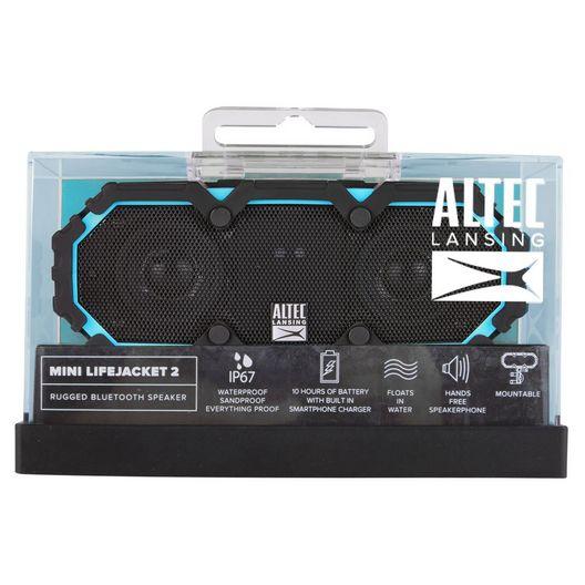 Altec Lansing  Mini Lifejacket 2 Wireless Speaker Black
