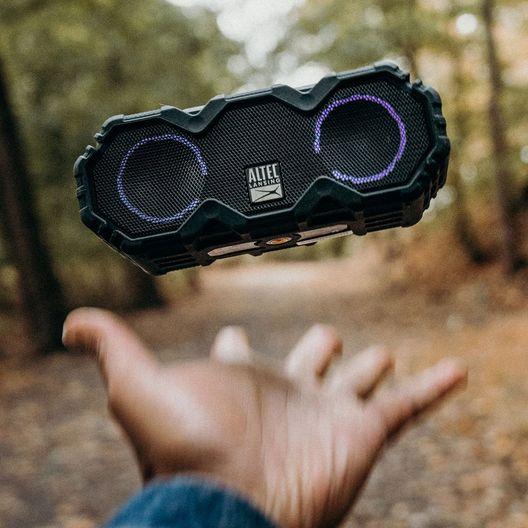 Altec Lansing  Mini LifeJacket Jolt Bluetooth Speaker Black