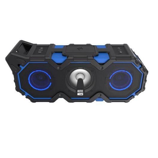 Altec Lansing - Super LifeJacket Jolt with Lights Speaker Black and Blue - 700478