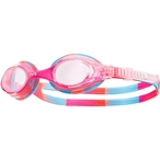 TYR  Swimple Kids Goggles  Tie Dye Pink/White