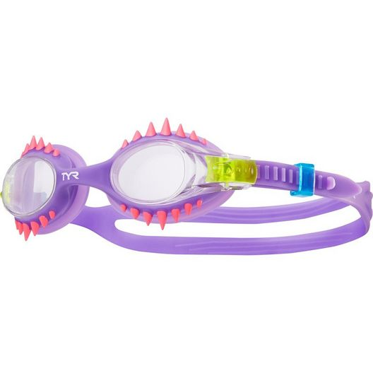 Tyr Sport - Swimple Spikes Goggles, Clear Purple - 70076