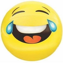 "Westbay - Emoji Beach Ball 24"" Assorted Styles"