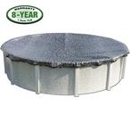 Micro Mesh Winter Pool Cover 12x24 ft Oval - B-W3626-VAR