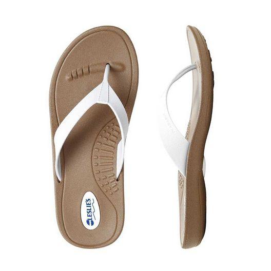 Okabashi  Flip Flops Breeze Toffee/White Small