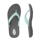Okabashi - Flip Flops Breeze Slate/Sea Foam, Small - 70497