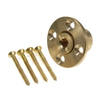 Safety Cover Wood Deck Brass Anchor w/ 4 Screws