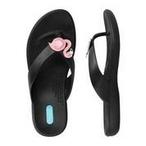 Okabashi - Flip Flops Farrah - Licorice, Size M/L - 70573