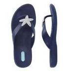 Okabashi - Flip Flops Oliver - Sapphire, Size L - 70594