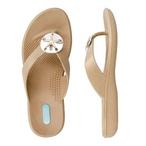 Okabashi - Okabashi Flip Flops Sandy - Chai, Size S - 70625