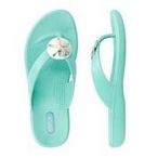 Okabashi - Flip Flops Sandy - Sea Glass, Size M/L - 70633