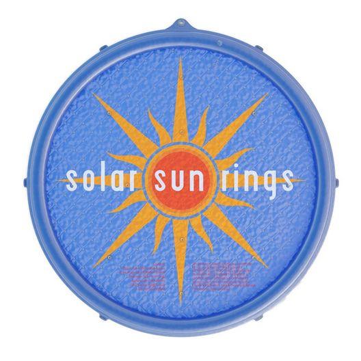 Solar Sun Rings  5 Round Passive Solar Pool Heating  Sunburst