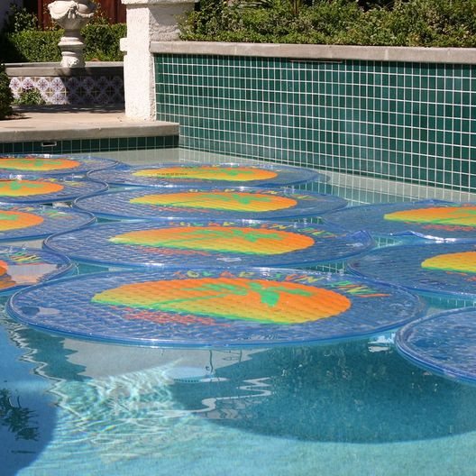 Patterned 5' Round Passive Solar Pool Heating
