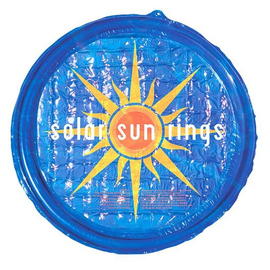Solar Sun Rings - Patterned 5' Round Passive Solar Pool Heating - 70813