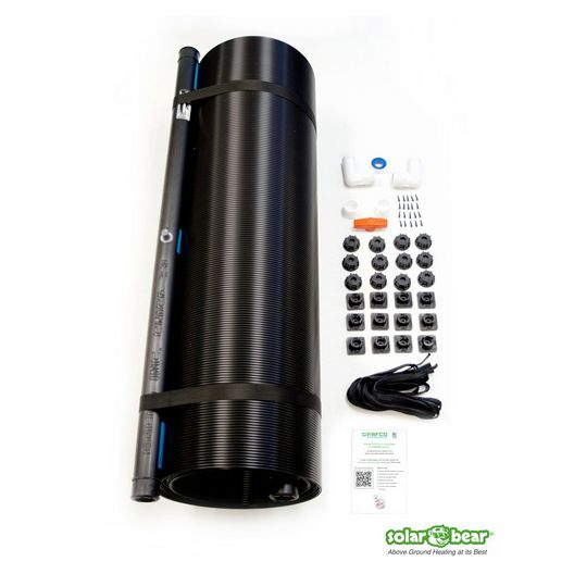 FAFCO - Solar Bear Pool Heating System with Installation Kit - 70947