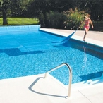 12' x 24' Rectangle Solar Swimming Pool Cover, 12 Mil, 5 Year, Blue