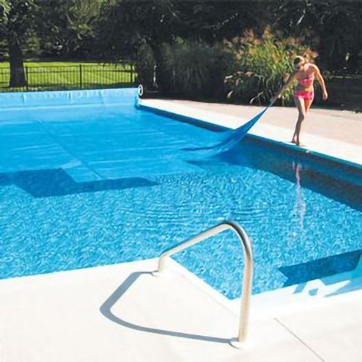 Leslie's - 12' x 24' Rectangle Solar Swimming Pool Cover, 12 Mil, 5 Year, Blue - 71230