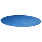 Hex-Tech 12' Round Solar Swimming Pool Cover, 8 Mil, 3 Year, Blue