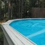 15' Round Blue Solar Cover Three Year Warranty, 8 Mil