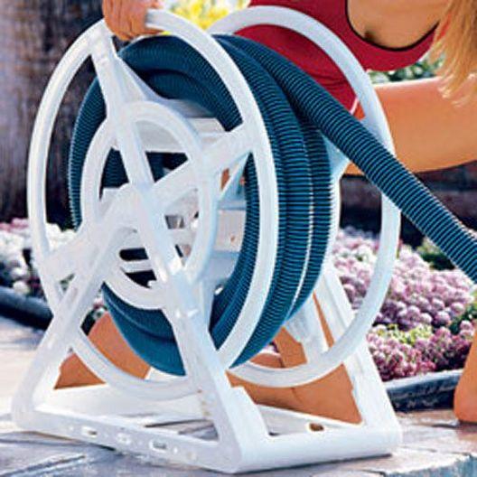 Vacuum Hose Reel (Holds up to 50' of 1-1/2in. Vacuum Hose)