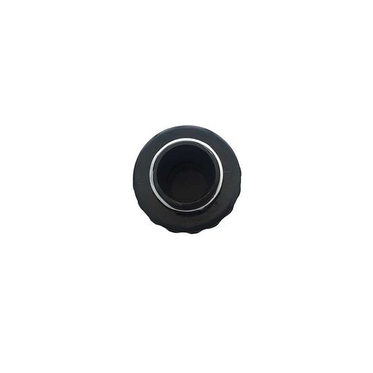 """Right Fit - Replacement 1.5"""" Double Male Threaded Union, Black - 724106"""