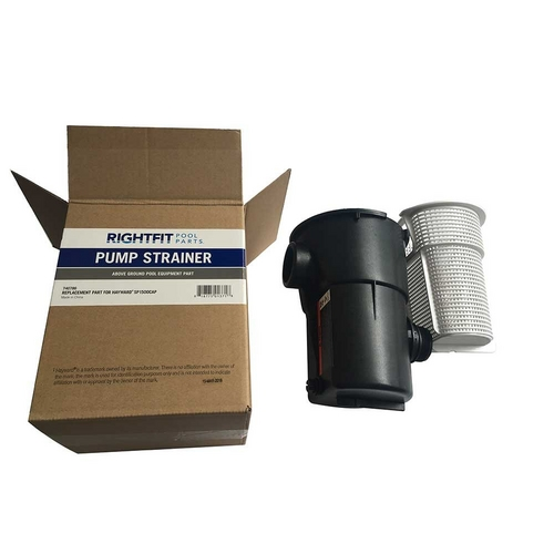 Right Fit - Replacement Pump Strainer Housing with Basket for Hayward Power-Flo Pumps