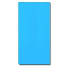 Swimline - Overlap 15' Round Solid Blue 48/52 in. Depth Above Ground Pool Liner, 20 Mil