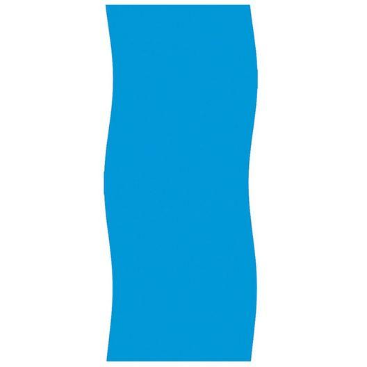 Swimline - Overlap 12' x 24' Oval Solid Blue 48/52in. Depth Above Ground Pool Liner, 20 Mil - 74810