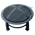AZ Patio Heaters  30 Wood Burning Fire Pit with Grate