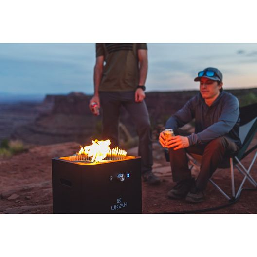 Ukiah  Note Deluxe Audio Fire Pit with Beat to Music Technology