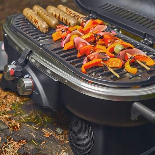 Ukiah  Drifter Portable Gas Grill with Sound System