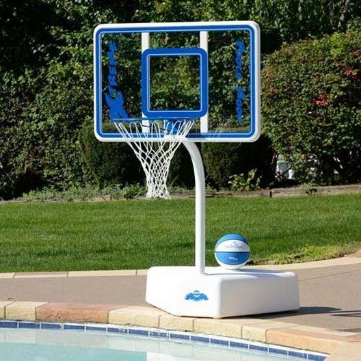 Dunn-Rite - Poola Hoop Pool Basketball Set with Net and Ball - 75310