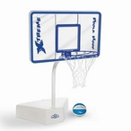 Poola Hoop Pool Basketball Set with Net and Ball