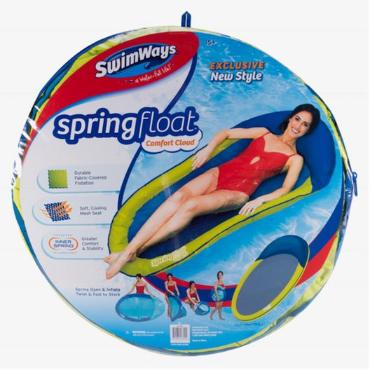 Swimways - Spring Float Comfort Cloud Inflatable Lounger - 75469