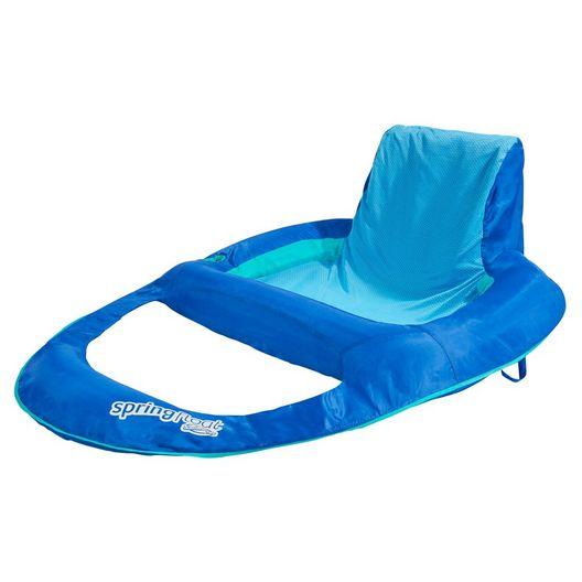 Swimways  Spring Float Recliner XL Blue