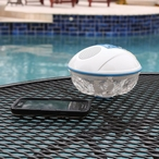 Floating Waterproof Bluetooth Speaker & Lightshow