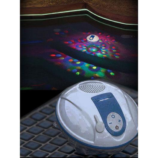 Game  Floating Waterproof Bluetooth Speaker  Lightshow