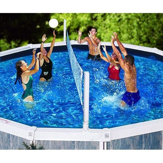 Swimline - Above Ground Pool Jame Combo Basketball and Volleyball Game - 76088