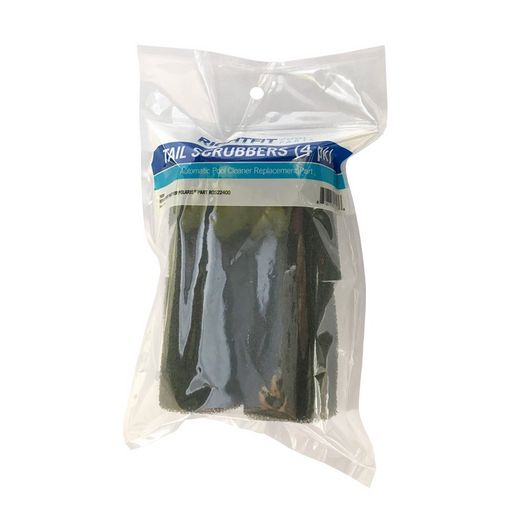 Right Fit - Replacement Sweep Hose Tail Scrubber for Polaris Pool Cleaners, 4-Pack - 760961