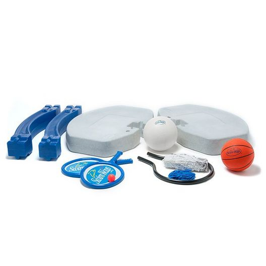 3-in-1 Basketball and Volleyball Game - 383