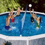 Swimline  Cross-Pool Above Ground Pool Volleyball Game