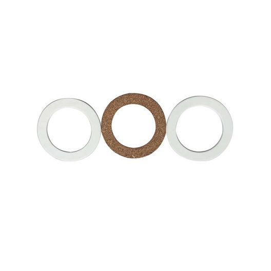Right Fit  Replacement Above Ground Inlet Fitting Gasket Set