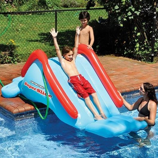 SuperSlide Inflatable Water Slide - 77006