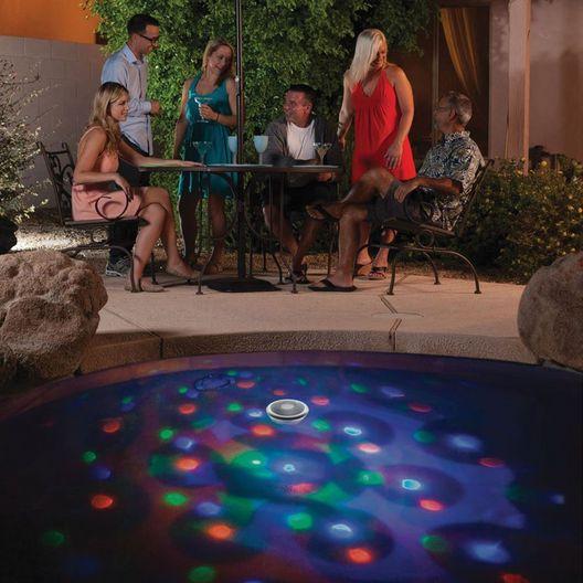 Solar Underwater Light Show
