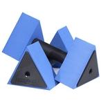 Excel Sports Science, Inc - AquaJogger Triangular Hand Held DeltaBells - 78832